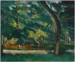 L'Étang des Sœurs à Osny, près de Pontoise 77 60 x 73.5 cm R307 FWN106