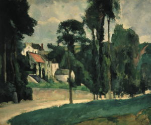 Le Clos des Mathurins à Pontoise (l'Hermitage) 1875 58 x 71 cm R310 FWN100