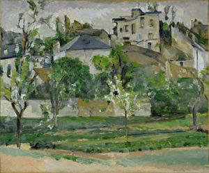 Le Jardin de Maubuisson, Pontoise 1877 50 x 61 cm R311 FWN109
