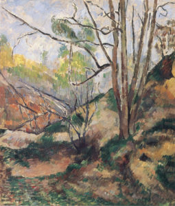 Sous-bois, vers 1879 55 x 46 cm R376 FWN132