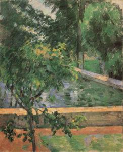 Le Bassin du Jas de Bouffan 1881-1882 73.7 x 59.7 cm R380 FWN116