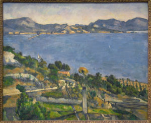 Le Golfe de Marseille vu de l'Estaque, vers 1882 59.5 x 73 cm R390 FWN119