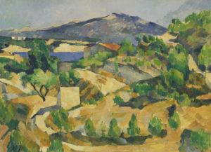 Montagnes en Provence (près de l'Estaque ?) vers 1879 53.5 x 72.4 cm R391 FWN124