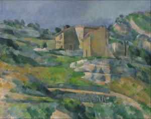 Maisons en Provence (la vallée de Riaux près de l'Estaque) 1882-1883 64.7 x 81.2 cm R438 FWN152