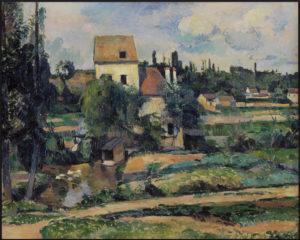 Le Moulin sur la Couleuvre à Pontoise 1881 72.5 x 90 cm R483 FWN158