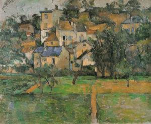 L'Hermitage à Pontoise 1881 46.5 x 56 cm R484 FWN159