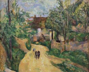 La Route tournante au Valhermeil, Auvers-sur-Oise, vers 1881 60 x 73 cm R488 FWN162