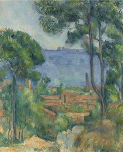Vue sur l'Estaque et le Château d'If, 1883-1885 71 x 57.7 cm R531 FWN193
