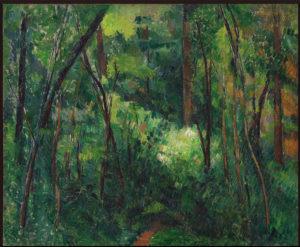 Sous-bois, vers 1884 46.5 x 56.3 cm R543 FWN209