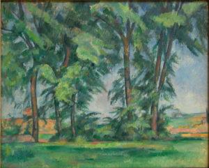 Les Grands Arbres au Jas de Bouffan, 1885-1887 64.7 x 79.5 cm R547 FWN213