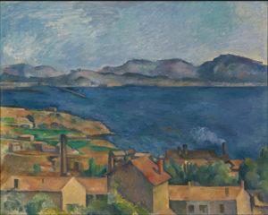 Le Golfe de Marseille vu de l'Estaque, vers 1885 80.2 x 100.6 cm R626 FWN196