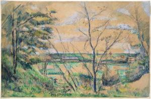 RW088 La Plaine de Saint-Ouen-l'Aumône vue des carrières du Chou 1878-1880