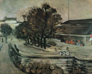 Paris, quai de Bercy (la halle aux vins), 1872 73 x 92 cm R179, FWN62