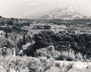 Photographie du site par rewald en 1935