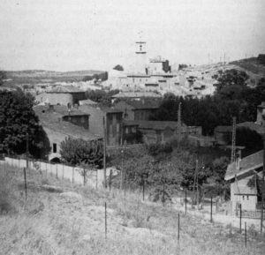 Site photographié par John Rewald vers 1935