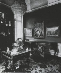 Le salon de la maison Pellerin