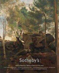 Camille Corot - Personnage dans la forêt de Fontainebleau