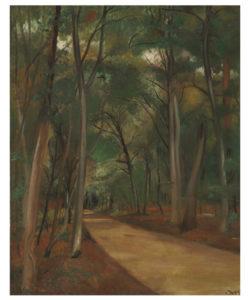 Derain-Chemin en forêt de Fontainebleau, 1926-1927