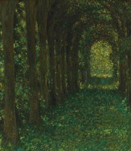 Henri Le Sidaner - L'Allée verte