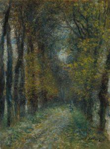 Pierre-Auguste Renoir - L'Allée couverte, 1872