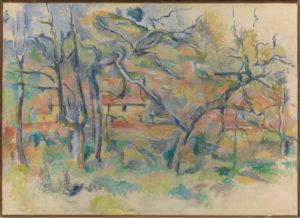 La Bastide La Durane dans la plaine de Valcros I 1885-1886 60 x 81 cm R550 - FWN220