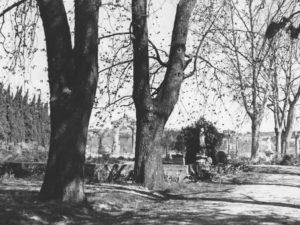Le site en 1935 (John Rewald)