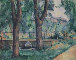 Bassin et lavoir du jas de Bouffan 1887-1889 64.8 x 80.9 cm R566 FWN215