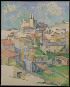 gardanne (vue verticale) 1886 80 x 64.2 cm R570 FWN222
