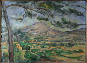 La Montagne Sainte-Victoire au grand pin et la Bastide Vieille II, vers 1887 66 x 90 cm R599 FWN235