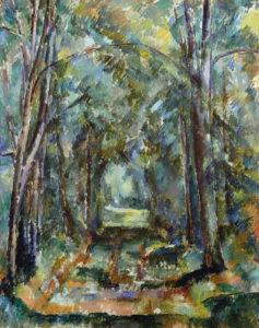 L'Allée à Chantilly III, 1888 82 x 66 cm R614 FWN246