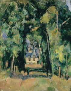L'Allée à Chantilly I, 1888 80.7 x 64.8 cm R616 FWN244