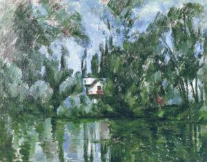 Maison au bord de la Marne (sur l'île Machefer à Saint-Maur-des-Fossés) 1888-1892 73 x 91 cm R622 FWN248