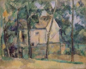 Maison et arbres, 1888-1890 63.5 x 79.5 cm R629-FWN255
