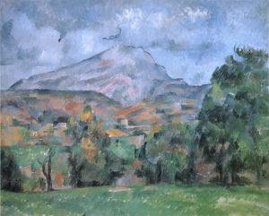La Montagne Sainte-Victoire, 1888-1889 65 x 81 cm R631-FWN258