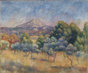 Pierre-Auguste Renoir - La Montagne Sainte-Victoire