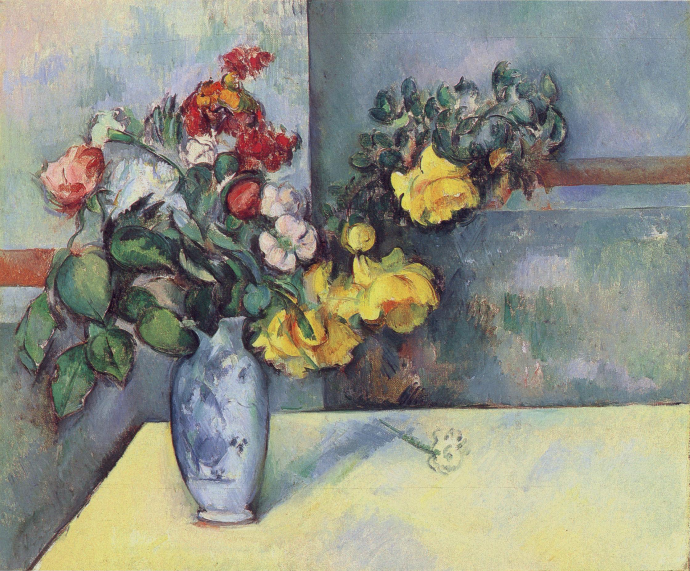 Nature morte  fleurs dans un vase, 1885,1888 (R672 \u2013 FWN822