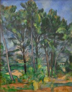 La Montagne Sainte-Victoire avec viaduc, vue depuis la colline de Valcros, vers 1890 91 x 72 cm R695 FWN265