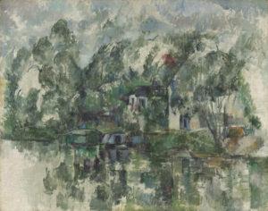 Au bord de l'eau, 1892-1894 73 x 92 cm R724-FWN281