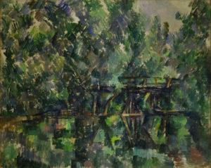 Le Pont de l'île Machefer à Saint-Maur-des-Fossés, 1892-1894 64 x 79 cm R725 FWN282