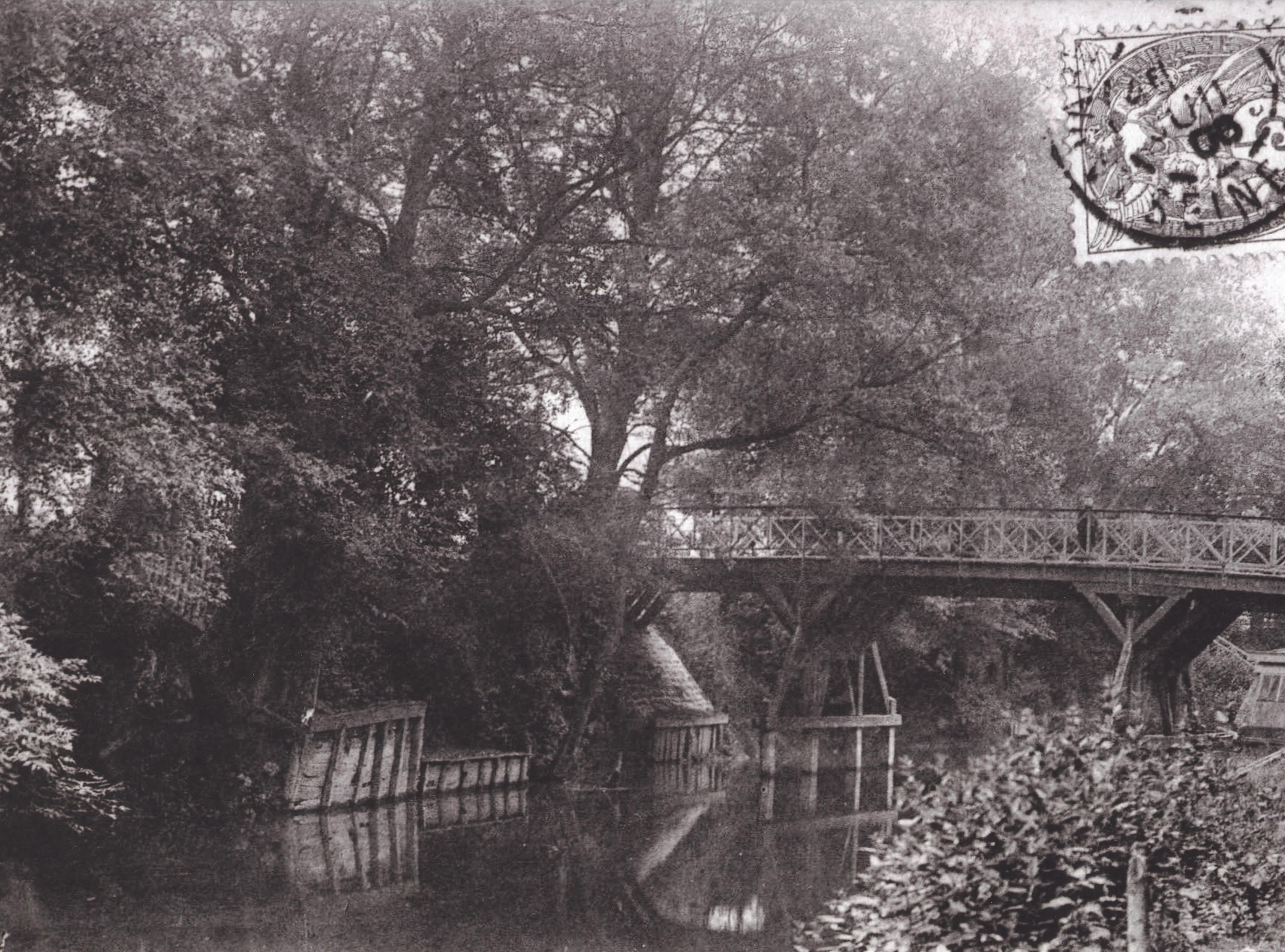 le pont de l le machefer saint maur des foss s 1892 1894 r725 fwn282 soci t cezanne. Black Bedroom Furniture Sets. Home Design Ideas