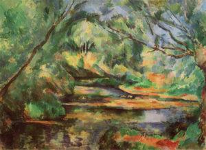 Eau courante en sous-bois (Le Morbras à Créteil ?), 1892-1894 60 x 81 cm R766-FWN310