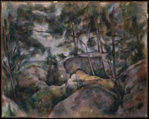 Rochers à Fontainebleau, 1897-1898 73 x 92 cm R775-FWN322