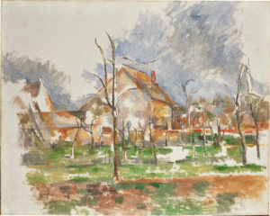 Paysage d'hiver (Giverny), 1894 65 x 55 cm R777 - FWN299