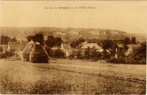 Giverny Carte postale ancienne (Alain Mothe)