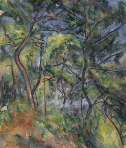 Sous-bois, 1893-1894 116 x 81 cm R815-FWN303