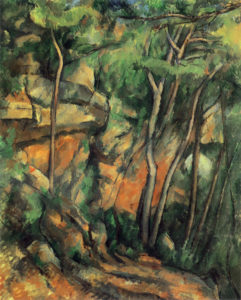 Dans le parc du Château Noir, vers 1898 92 x 73 cm R878-FWN319