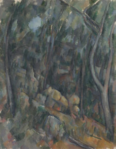 Sous-bois devant les grottes au-dessus du Château Noir, 1900-1904 90.7 x 71.5 cm R880-FWN335