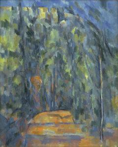 La Route tournante en sous-bois, 1902-1906 81.3 x 64.8 cm R889 - FWN340