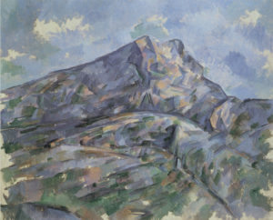 La Montagne Sainte-Victoire vue du bosquet du Château Noir, vers 1904 65 x 80.3 cm R902-FWN357