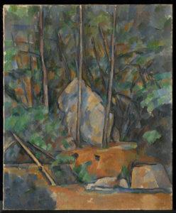 la Citerne dans le parc de Château Noir, vers 1900 74.3 x 61 cm R907-FWN336